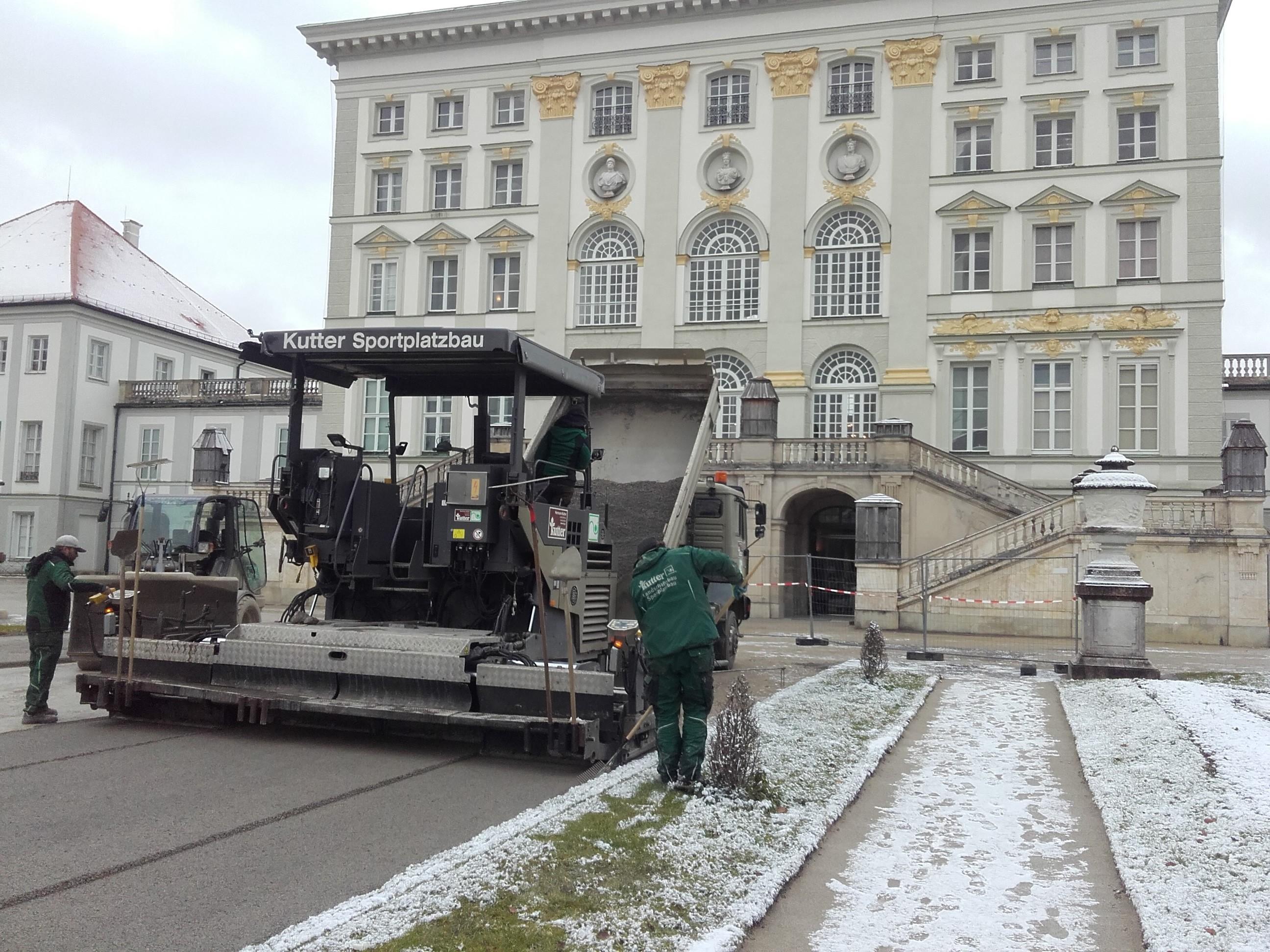 Kutter beendet Arbeit im Nymphenburger Schlosspark